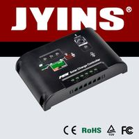 high quality 12V/24V 5A to 40A solar charger controller