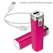 2600mAh USB Power Bank Portable External Battery Charger For iPhone 4S 5C 5S HTC