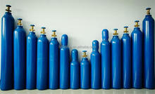 weight of oxygen cylinder with steel material and valve from 2kg-60kg seamless gas cylinder