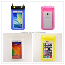 Wholesale China PVC Smartphone or Camera Waterproof Bag For iphone 6Plus Case
