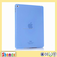 Silicone tpu soft clear case for ipad 6 air 2