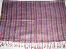 100% lana de seda de los mantones impresos