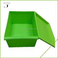 Small portable plastic modern bedroom storage containers with lid for daily use
