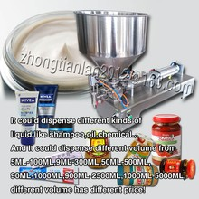 new arrive+stainless steel+single nozzle+capping machine+(50ML-500ML), cream sauce paste filling machine