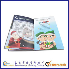 custom printed children's educational activity game book