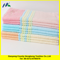Wholesale china factory gentle color thick soft towel face wash