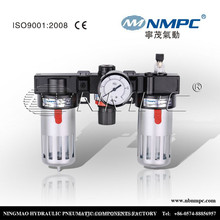 coalescing filter for air compressor Airtac type air source treatment filter regulator lubricator BC3000