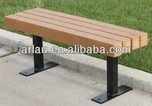 FW205 Outdoor Furniture Series Park Bench Wood Material Construction
