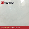 Newstar cheap polished pure white marble slab,marble sales