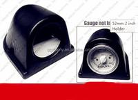 52mm 2inch Universal Single Gauge Dash Mount Pod Holder Black Plastic Heavy Duty