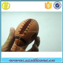 basketball/football silicone horn speaker