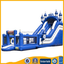 Yangjuan Inflatable multiplay bouncy castle,slide with detachable obstacle courses