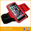 The big red Soft Plastic Waterproof Sport Armband for iPhone 5