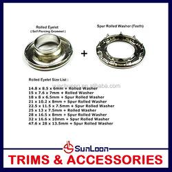 Cheap price custom top sell garment brass eyelet