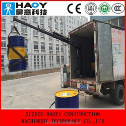Small pickup truck crane with cable winch RC for sale