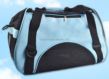 Blue Deluxe foldable Large pet carrier