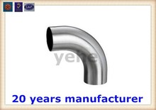 AISI 201 Welded stainless steel elbow pipe for fitting