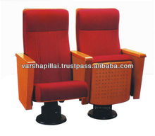 2012 Hot Sale Auditorium Chair / Cinema chair with cup holder