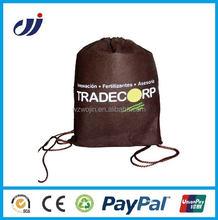 Factory price waterproof drawstring back pack bag