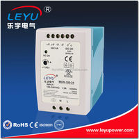 DIN Rail MDR-100-24 Singe output power supply 100W 4A power supply 24V dinrail dc power supply