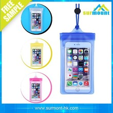 portable outdoor transparent Waterproof mobile/cell phone/camera bag/case