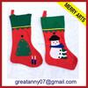 19inch christmas stocking gift with Santa and Reindeer universal christmas gifts