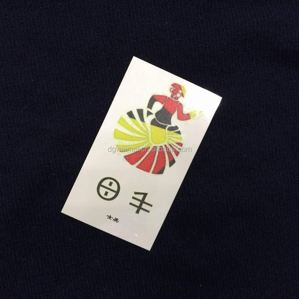 Custom made tattoo stickers view tattoo stickers wenmei for Custom tattoo stickers