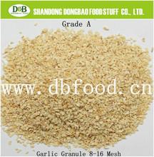 Natural Air dried Garlic Granule dehydrated garlic