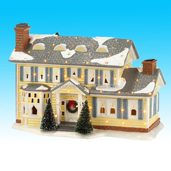 custom high quality village ceramic christmas house