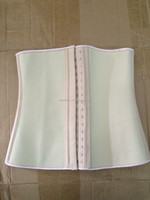 walson 100% latex rubber hot selling latex waist corset