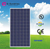 Fine workmanship polycrystalline 260w solar panels for apartments
