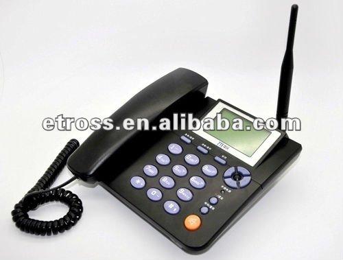 Zte wp623, teléfono de escritorio gsm, 900 / 1800 mhz