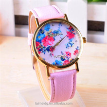 China factory bulk cheap fashion flower ladies watches, cheap flower ladies watches