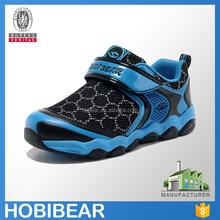 HOBIBEAR boy black mesh basketball shoes china wholesalers