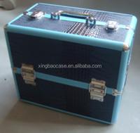 Mesh cosmetic pouch,aluminum cosmetic beauty case,eva cosmetic box