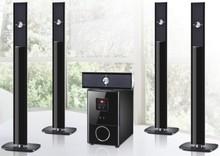 5.1 bluetooth speaker with subwoofer/fm/USB/MP3/SD/MMC Card Slot