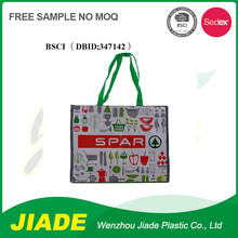 The best price cartoon shopping bags/tote bag wholesale/pp packaging bag for candy