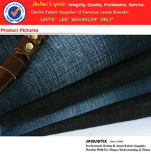 Meet Exported Standard 100% Cotton Fabric Textile For Denim jeans A002