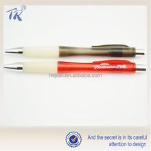 Cheap Wholesale Logo Print Acceptable Plastic Auto Pen