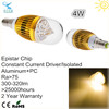 china supplier cheap price daylight epistar 4w led bulb e14 12 volt led bulbs