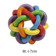 Colorful Rubber Ball Toy Pet Toy Dog Toy Pet Products Dog rubber ball