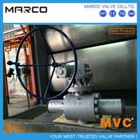 Hot sale bs5351 api 6d asme b16.34 standard ball valve for natural gas,gas,steam,vapour media