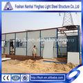 luz marco de acero del proyecto de construcción de casas prefabricadas