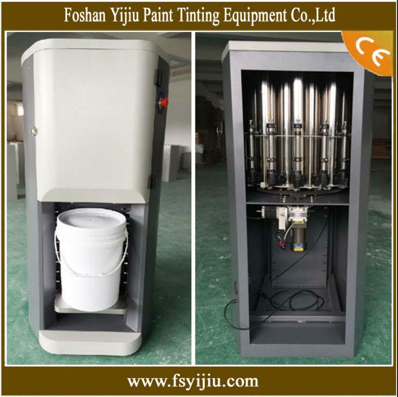 Water base paint tinting machine company buy paint for Paint tinting machine