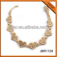 The most fashion cruciani lace bracelet
