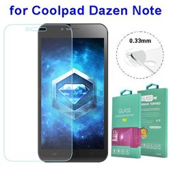 0.33mm Tempered Glass Screen Protector with Design for Coolpad Dazen Note