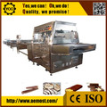 D3381 alta calidad del Chocolate máquina de recubrimiento para galletas