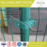 powde coating cheap wire fence-20 years fence factory experience&BV certificate