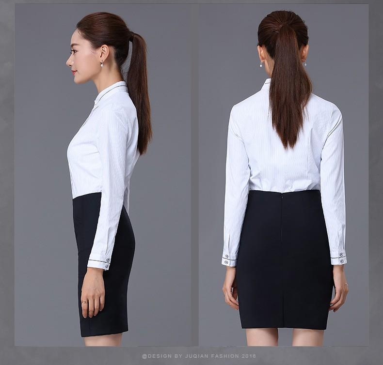 en stock articles de mode d 39 affaires blouse jupe ensemble femelle bureau uniforme style pour. Black Bedroom Furniture Sets. Home Design Ideas