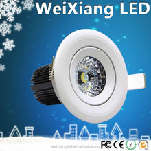 China top ten selling product, new high quality high power led downlight
